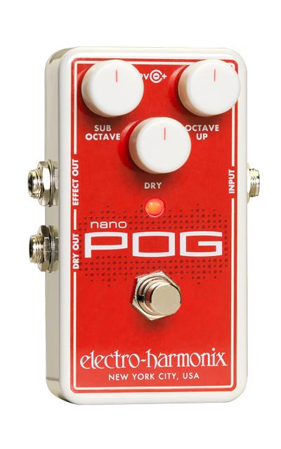 electro harmonix(エレクトロ・ハーモニクス) エフェクター オクターバー Nano POG Polyphonic Octave Generator