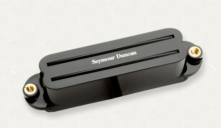 SeymourDuncan(セイモア・ダンカン) ピックアップ ハムバッカー(シングル用) Hot Rails SHR-1b Black