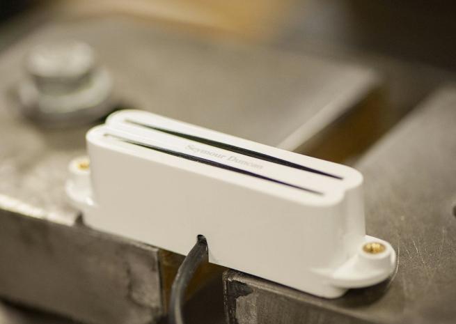 SeymourDuncan(セイモア・ダンカン) ピックアップ ハムバッカー(シングル用) Hot Rails SHR-1b White