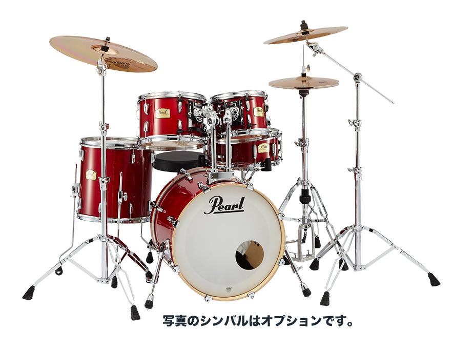 Pearl(パール) Session Studio Classic コンパクトサイズ フルセット(シンバル無し) #110 Sequoia Red 台数限定