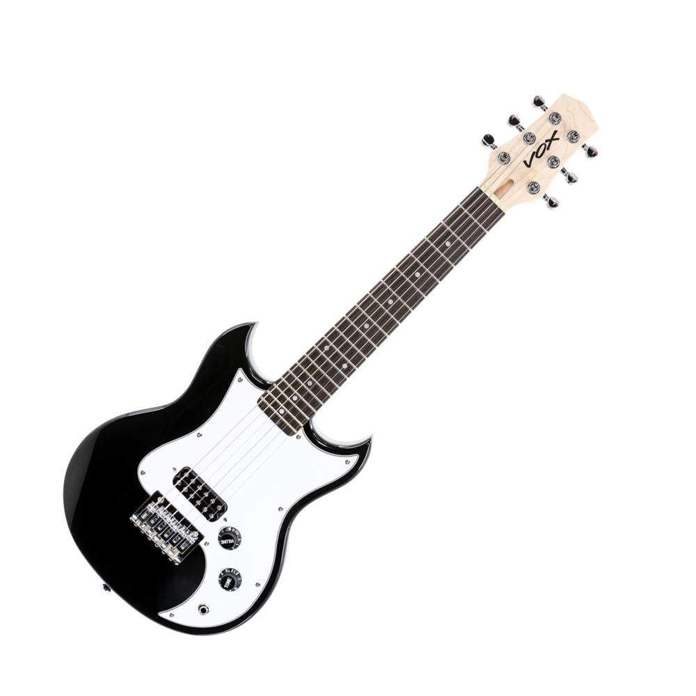 VOX ミニギター SDC-1 mini BK ブラック ショートスケール レギュラーチューニング対応 手の小さな女性やお子様に最適 キャリーバッグ付属