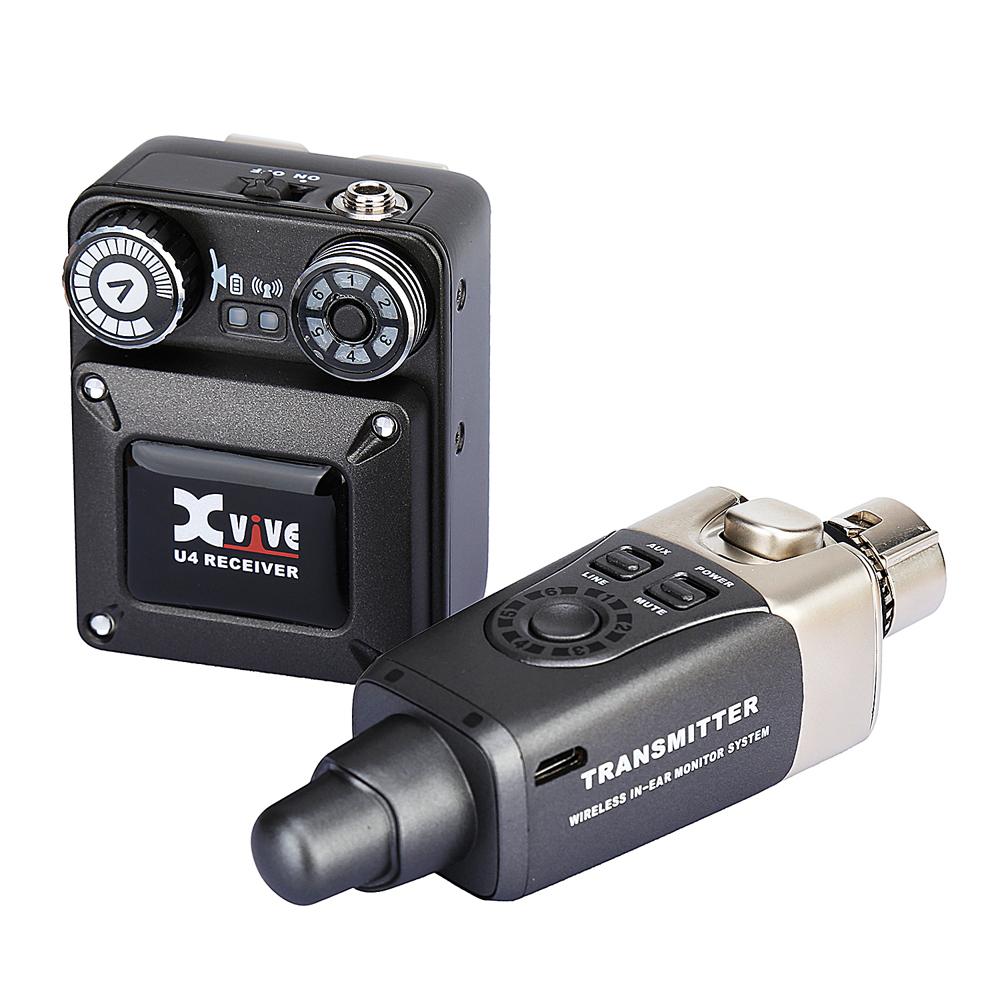 XVIVE エックスバイブ U4 インイヤーモニター ワイヤレスシステム(レシーバー、トランスミッターセット) XV-U4