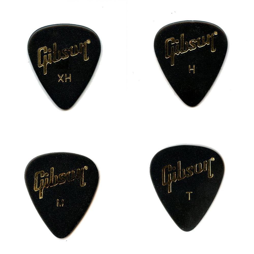 メール便 送料180円 日本正規代理店品 対応可能 Gibson ティアドロップ 別倉庫からの配送 Thin 12枚セット ギターピック ギブソン