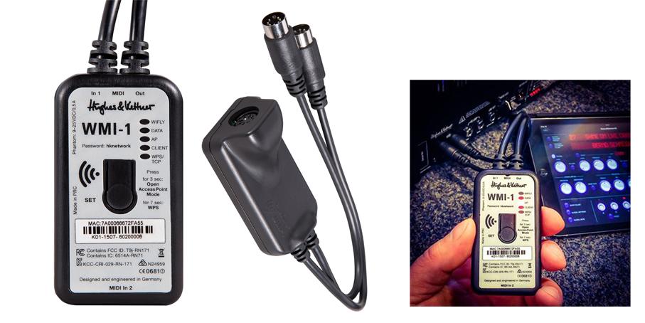 Hughes&Kettner WMI-1 Wireless MIDI Interface (HUK-WMI/1)
