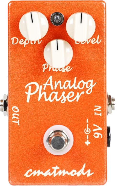 CMATMODS Analog Phaser【1年保証】【シーマットモッズ】【フェイザー】【新品】