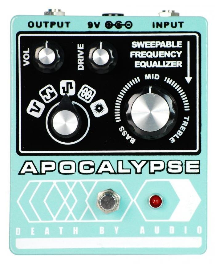【レビューを書いて次回送料無料クーポンGET】Death by Audio Apocalypse エフェクター【1年保証】【デスバイオーディオ】【アポカリプス】【ファズ】【ギター】【新品】