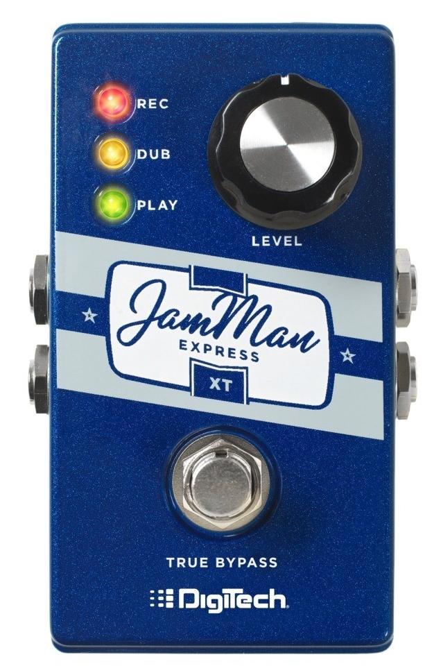 DigiTech JamMan Express XT エフェクター [並行輸入品][直輸入品]【デジテック】【ステレオ・ルーパー】【Stereo Looper Pedal】【Compact Stereo Looper with JamSync】【新品】