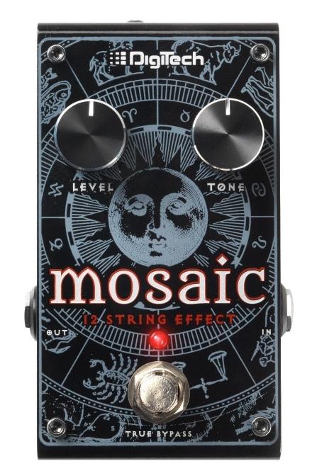 DigiTech Mosaic Polyphonic 12-String Effect [並行輸入品][直輸入品]【デジテック】【新品】