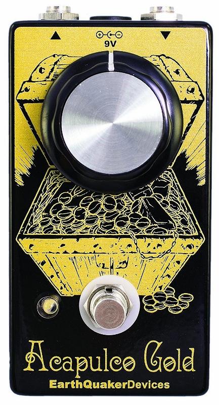 1年保証 Earthquaker Devices Acapulco Gold 限定モデル 半額 アースクウエイカーディバイス V2 新品