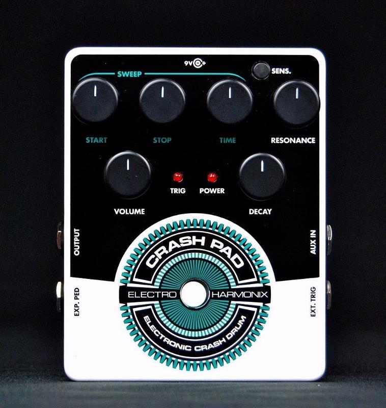 【レビューを書いて送料無料】Electro-Harmonix Crash Pad エフェクター [並行輸入品][直輸入品] 【Electric Crash Drum】【Synthesizer】【エレクトロ・ハーモニクス】【ElectroHarmonix】【Electro Harmonix】【エレクトロハーモニクス】【ギター】【新品】