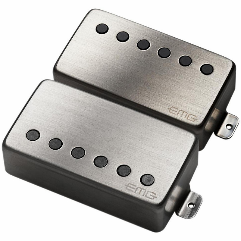 EMG JH Set Brushed Chrome [並行輸入品][直輸入品]【Metallica James Hetfield】【新品】【ギター用ピックアップ】