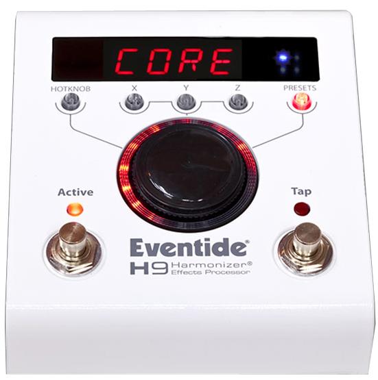Eventide H9 CORE Harmonizer Stompbox 国内用電源アダプター付属 [並行輸入品][直輸入品] 【イーブンタイド】【新品】