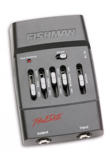 Fishman PRO-EQ II [並行輸入品][直輸入品]【フィッシュマン】【PRO EQ】【プリアンプ】【新品】