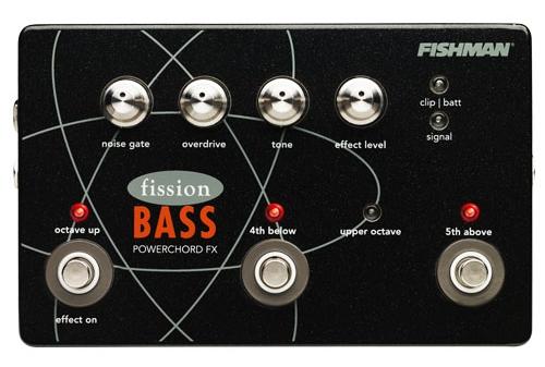 Fishman Fission Bass Powerchord FX Pedal [並行輸入品][直輸入品]【フィッシュマン】【新品】