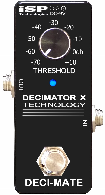 【レビューを書いて次回送料無料クーポンGET】ISP Technologies DECI-MATE Micro Decimator エフェクター [直輸入品][並行輸入品]【ノイズリダクション】【新品】
