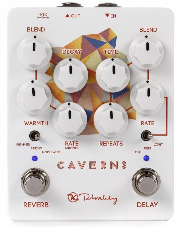 keeley Electronics Caverns Delay Reverb V2 エフェクター [並行輸入品][直輸入品]【キーリー】【ディレイ】【新品】