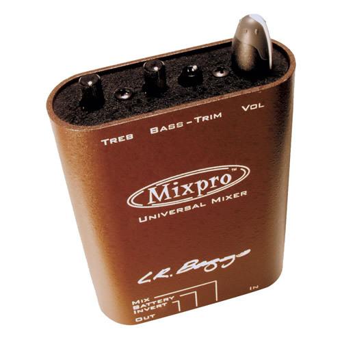 ファントム電源を装備 L.R.Baggs Mix Pro 並行輸入品 大幅値下げランキング MixPro 爆買いセール 新品 直輸入品 エルアールバッグス