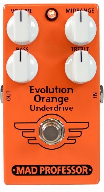 【レビューを書いて次回送料無料クーポンGET】Mad Professor New Evolution Orange Underdrive エフェクター [並行輸入品][直輸入品]【マッドプロフェッサー】【アンダードライブ】【新品】