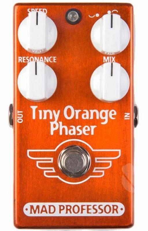 【レビューを書いて次回送料無料クーポンGET】Mad Professor New Tiny Orange Phaser エフェクター [並行輸入品][直輸入品]【マッドプロフェッサー】【フェイザー】【新品】