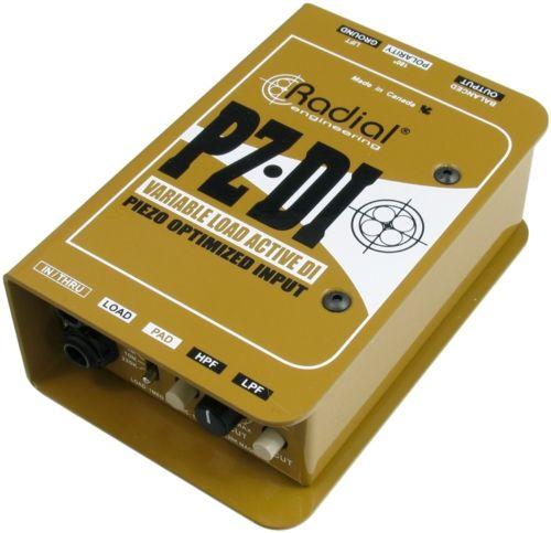 【レビューを書いて次回送料無料クーポンGET】Radial PZ-DI [並行輸入品][直輸入品]【ラディアル】【ラジアル】【真空管ディストーション】【ピエゾ】【アコースティック楽器用】【DI】【PZ DI】【新品】