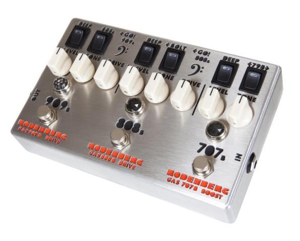 RODENBERG GAS-789B NG Overdrive【1年保証】【ローデンバーグ】【707B&808B&909B】【新品】