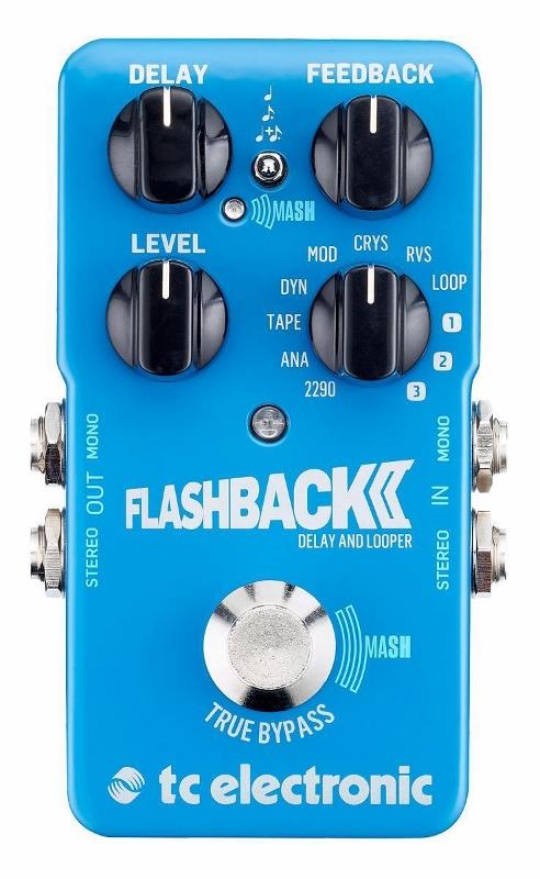 TC Electronic Flashback 2 エフェクター [直輸入品][並行輸入品]【ディレイ】【t.c.electronic】【Flash back】【新品】