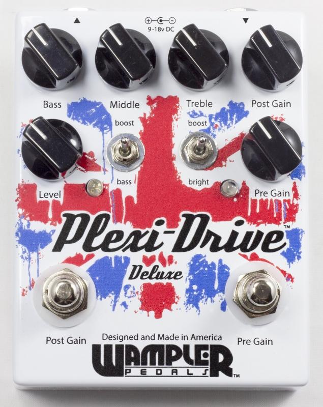 Wampler Pedals Plexi-Drive Deluxe [直輸入品][並行輸入品]【ワンプラー】【オーバードライブ】【新品】