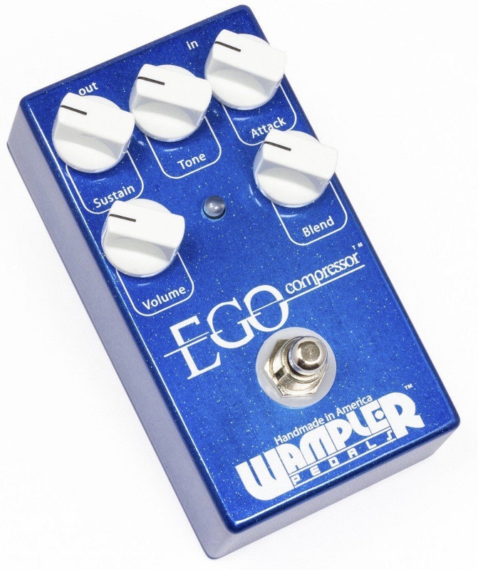 【レビューを書いて次回送料無料クーポンGET】Wampler Pedals Ego Compressor Made in USA エフェクター [直輸入品][並行輸入品]【ワンプラー】【コンプレッサー】【新品】