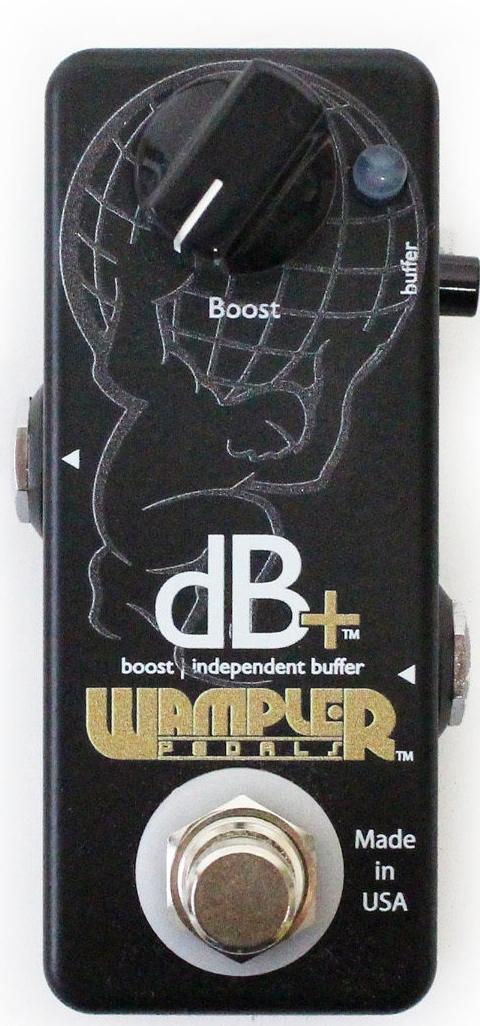 Wampler Pedals dB+ [直輸入品][並行輸入品]【ワンプラー】【オーバードライブ】【ブースター】【新品】
