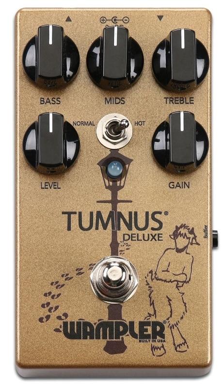 【レビューを書いて次回送料無料クーポンGET】Wampler Pedals Tumnus Deluxe エフェクター [直輸入品][並行輸入品]【ワンプラー】【オーバードライブ】【新品】