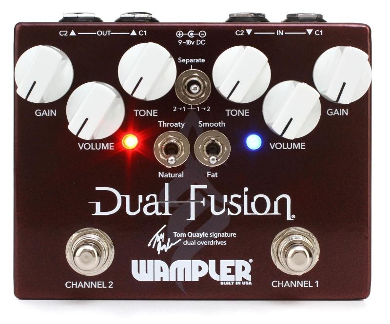 【レビューを書いて次回送料無料クーポンGET】Wampler Pedals Dual Fusion VERSION 2 エフェクター [直輸入品][並行輸入品]【ワンプラー】【オーバードライブ】【V2】【新品】