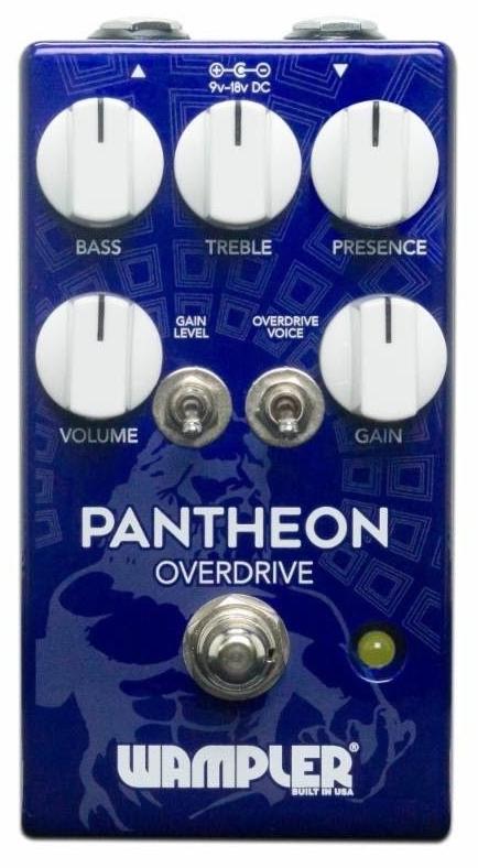 【レビューを書いて次回送料無料クーポンGET】Wampler Pedals Pantheon Overdrive エフェクター [直輸入品][並行輸入品]【ワンプラー】【オーバードライブ】【新品】