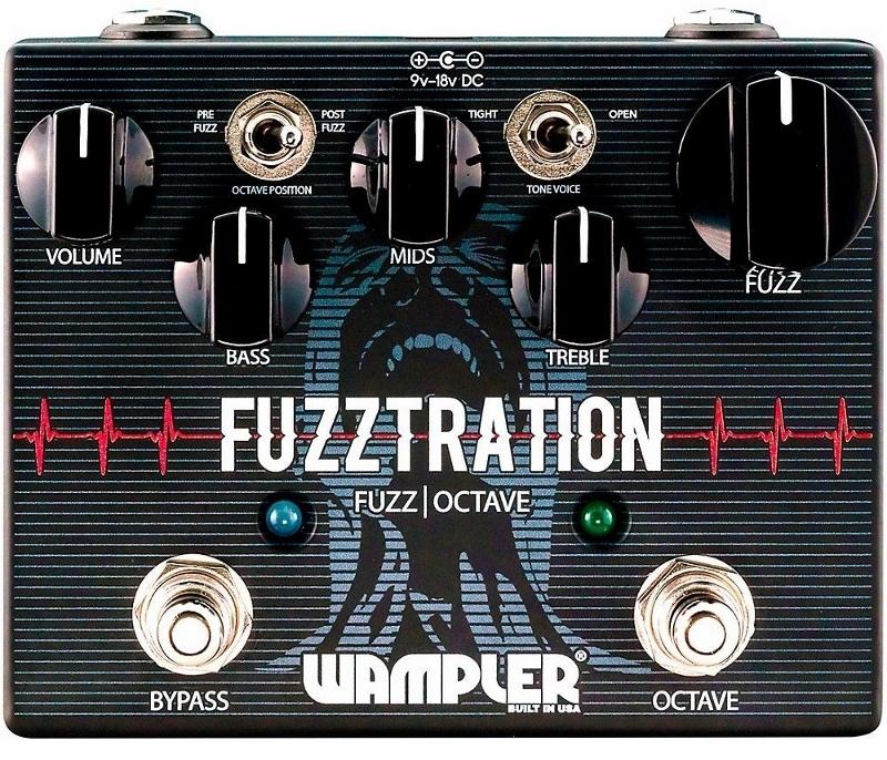 【レビューを書いて次回送料無料クーポンGET】Wampler Pedals Fuzztration エフェクター [直輸入品][並行輸入品]【ワンプラー】【ファズ】【新品】