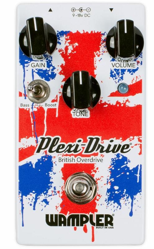 Wampler Pedals Plexi-drive [直輸入品][並行輸入品]【ワンプラー】【プレキシドライブ】【新品】