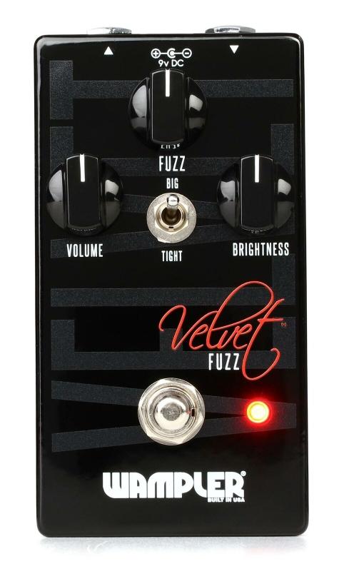 Wampler Pedals Velvet Fuzz [直輸入品][並行輸入品]【ベルベット】【ファズ】【新品】