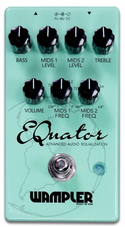 Wampler Pedals EQuator [直輸入品][並行輸入品]【ワンプラー】【新品】