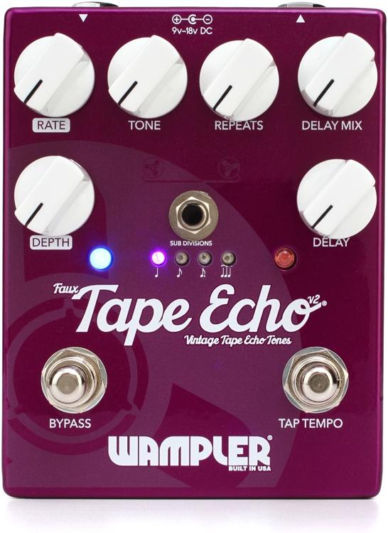 Wampler Pedals Faux Tape Echo V2 [直輸入品][並行輸入品]【ワンプラー】【新品】