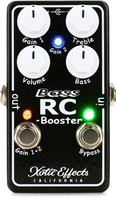 Xotic Bass RC-Booster V2 [直輸入品][並行輸入品]【エキゾチック】【ベース用ブースター】【新品】