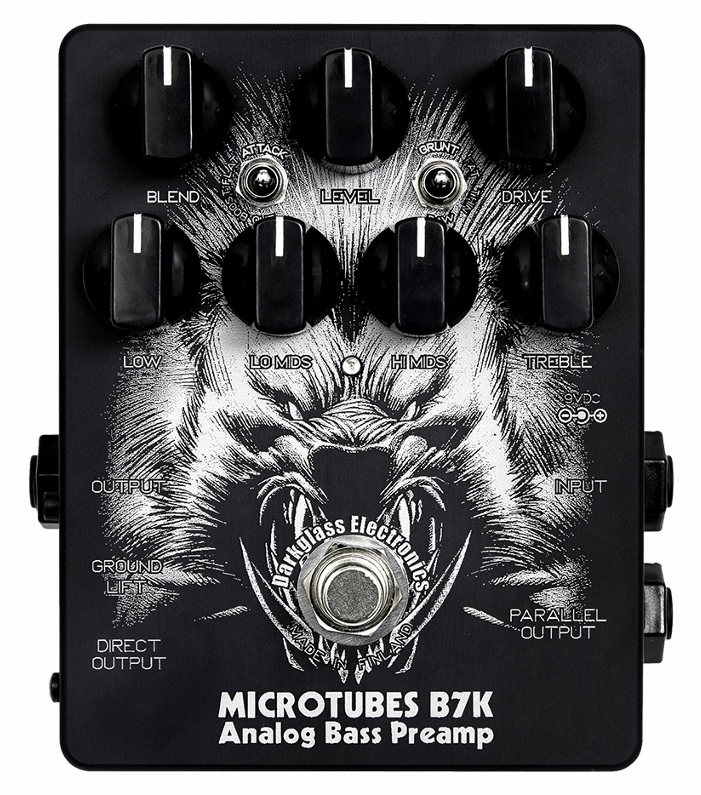 【レビューを書いて次回送料無料クーポンGET】Darkglass Electronics Microtubes B7K Limited Edition Ver2.0 エフェクター【メーカー1年保証】【ダークグラスエレクトロニクス】【ベースエフェクター】【新品】