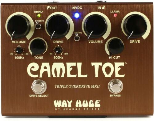 Way Huge Camel Toe MKII Triple Overdrive Pedal [並行輸入品][直輸入品]【新品】
