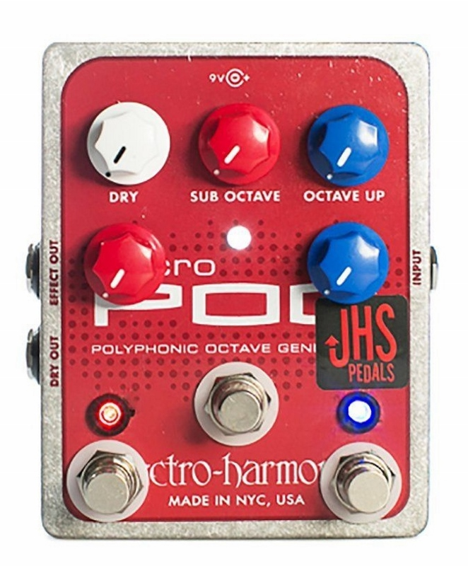 JHS Pedals Micro Pog Modded