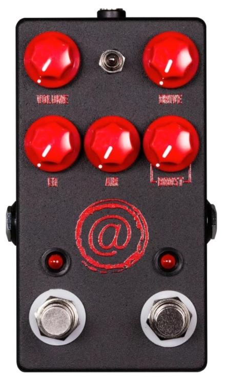 【レビューを書いて次回送料無料クーポンGET】JHS Pedals The AT+ Exclusive Black with Red Logo エフェクター [並行輸入品][直輸入品]【ジェイエイチエスペダルズ】【Andy Timmons Signature Channel Drive】【ディストーション】【新品】