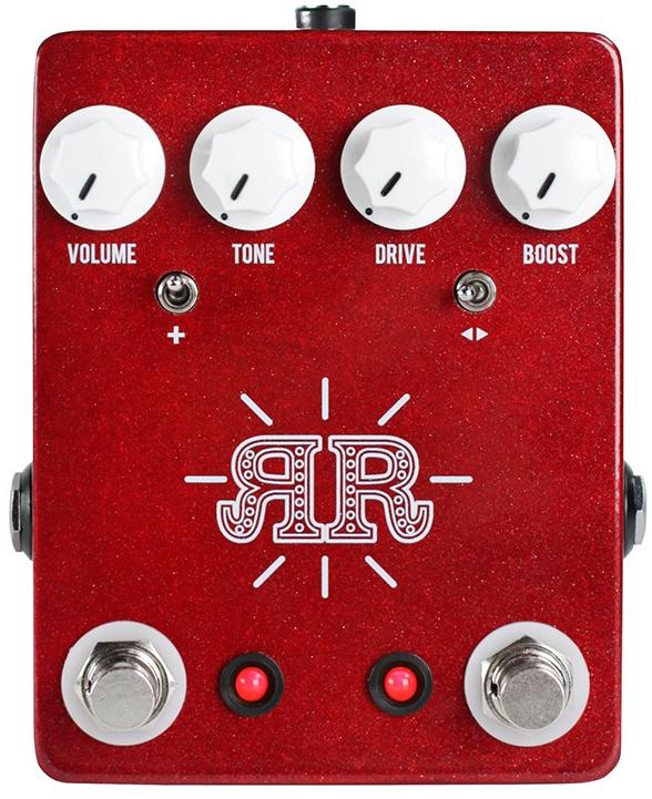 【レビューを書いて次回送料無料クーポンGET】JHS Pedals Ruby Red エフェクター [並行輸入品][直輸入品]【ジェイエイチエスペダルズ】【オーバードライブ】【新品】