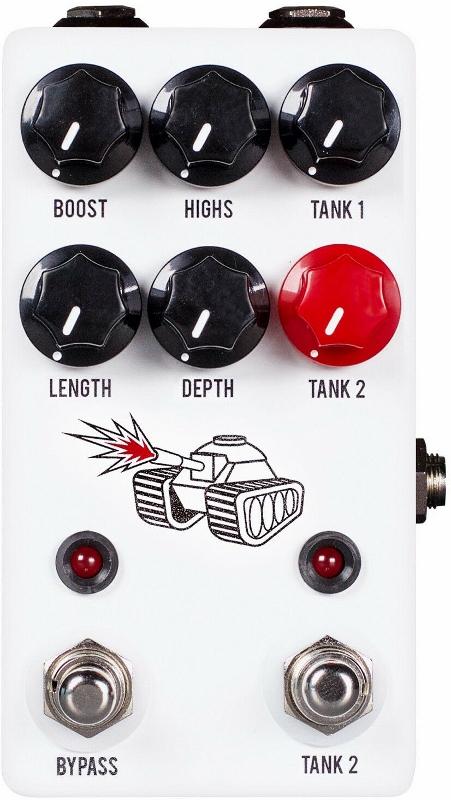 JHS Pedals Spring Tank Reverb エフェクター [並行輸入品][直輸入品]【ジェイエイチエスペダルズ】【新品】