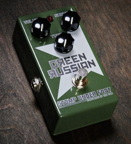 Stomp Under Foot Green Russian【1年保証】【ストンプアンダーフット】【新品】