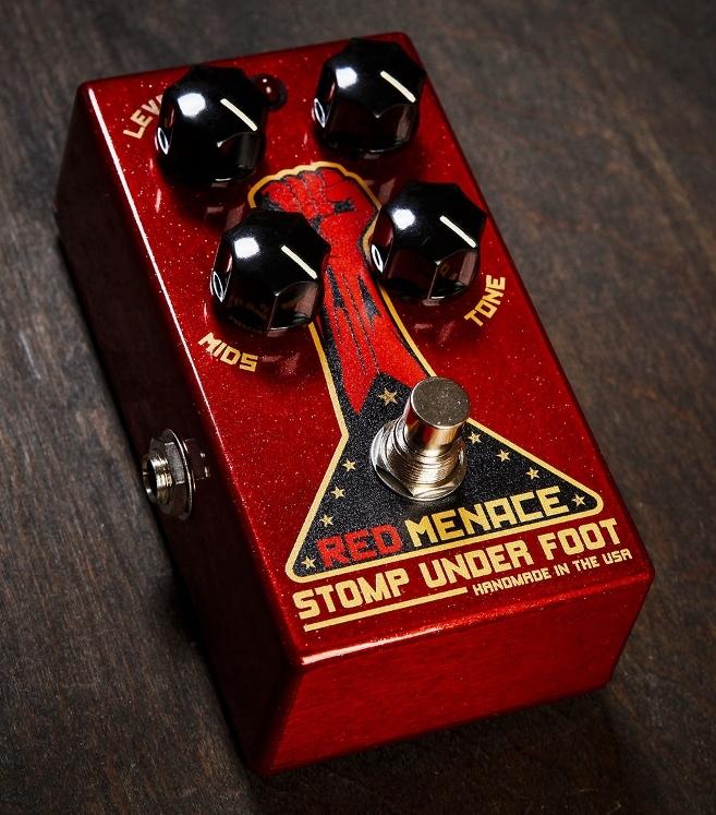 Stomp Under Foot Red Menace【1年保証】【ストンプアンダーフット】【新品】