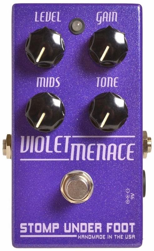 Stomp Under Foot Violet Menace【1年保証】【ストンプアンダーフット】【新品】