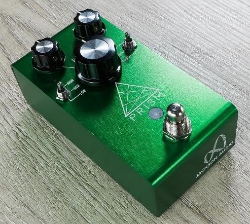 【レビューを書いて次回送料無料クーポンGET】Jackson Audio Prism Green エフェクター [並行輸入品][直輸入品]【ジャクソン・オーディオ】【新品】