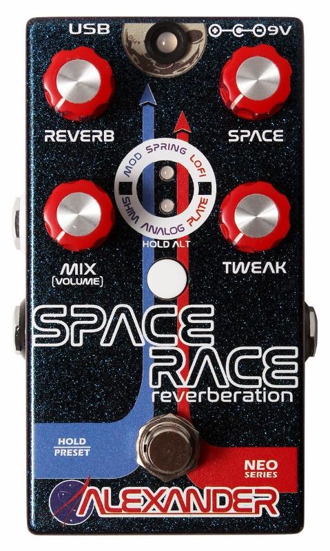 【レビューを書いて次回送料無料クーポンGET】Alexander pedals Neo Series Space Race エフェクター【1年保証】【アレキサンダー】【新品】