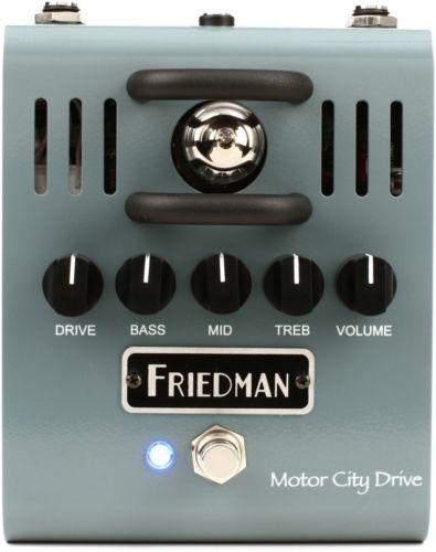 【レビューを書いて次回送料無料クーポンGET】Friedman Motor City Drive エフェクター [並行輸入品][直輸入品]【フリードマン】【オーバードライブ】【新品】